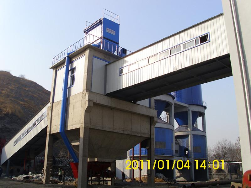山东新汶矿业集团翟镇煤矿---抛矸充填工程